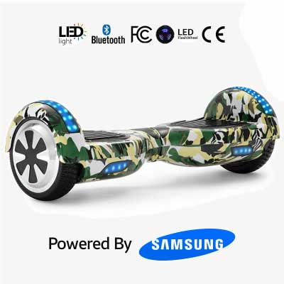 """Army Green 6.5"""" Hoverboard"""