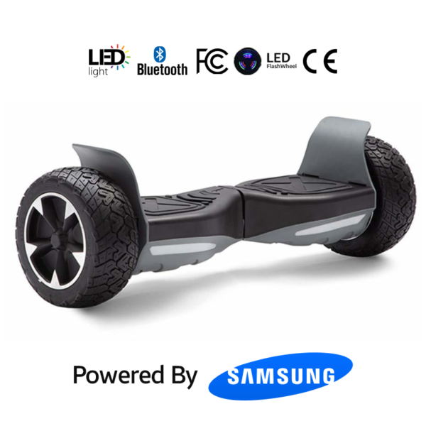 Black_Grey 8.5_ Hummer Off Road Bluetooth Hoverboard