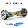 Hip-Hop Graffiti 6.5_ Bluetooth Hoverboard