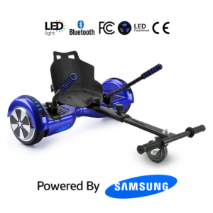 Hoverkart Bundle Blue 6.5_ Bluetooth Hoverboard