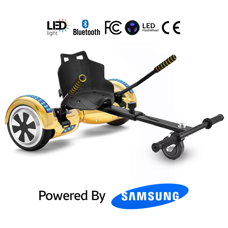 Buy Hoverboard Chrome Gold