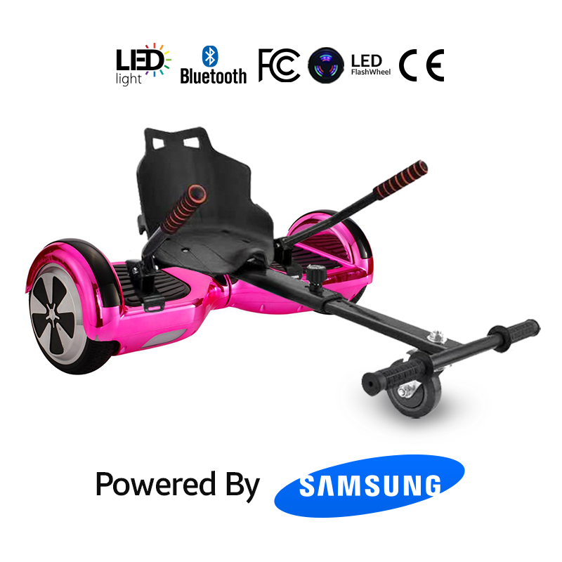 Buy Chrome Pink Hoverboard