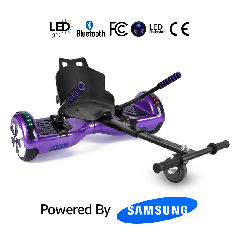 Buy Purple Hoverboard Hoverkart