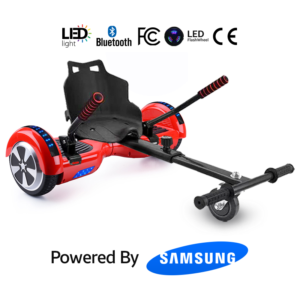 Red Bluetooth Hoverboard