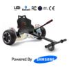 "Hoverkart Bundle White Mix 8.5"" Hummer Off Road Bluetooth Hoverboard"