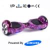 Purple Galaxy 6.5_ Bluetooth Hoverboard