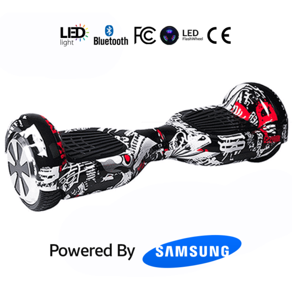 Red Mix 6.5_ Bluetooth Hoverboard